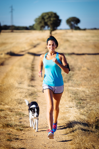 Dogs need US to exercise them!