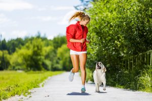go running with your puppy