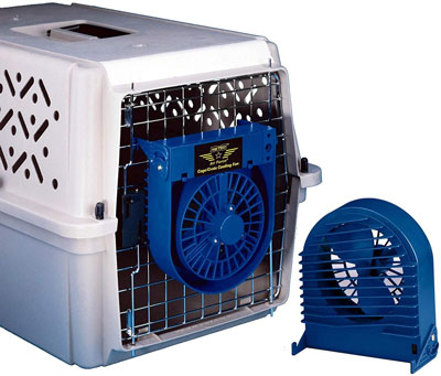 dog crate fan
